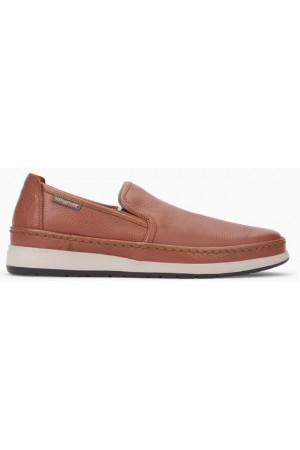 Mephisto Hadrian brown leather slip-on shoe for men
