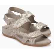 Mephisto Juliet beige leather sandals for women