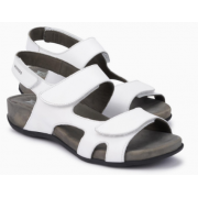 Mephisto Juliet white leather sandals for women