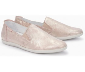 Mephisto Korie leather slip-on shoes for women pink