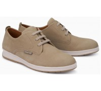 Mephisto LESTER lace up shoes for men - sand nubuck
