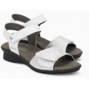 Mephisto Pattie white leather sandals for women