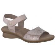 Mephisto Pattie beige leather sandals for women