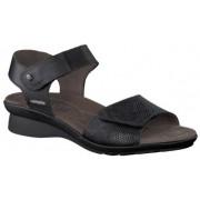 Mephisto Pattie black leather sandals for women