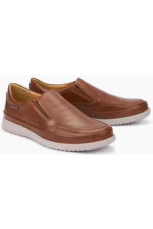 Mephisto Twain brown leather slip-on shoe for men