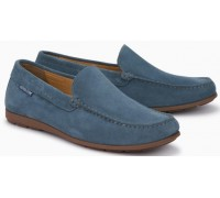 Mephisto Algoras denim leather slip-on shoe for men