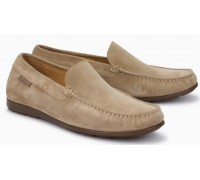 Mephisto Algoras sand suede slip-on shoe for men