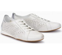 Mephisto Belisa leather laceshoe for women white