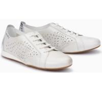 Mephisto Belisa leather laceshoe for women white