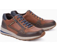 Mephisto BRADLEY leather sneakers for men brown