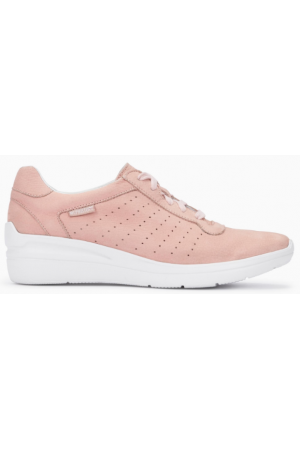 Mephisto Chris Perf leather laceshoe for women pink