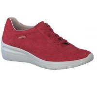 Mephisto Chris Perf leather laceshoe for women red