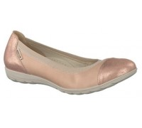 Mephisto Elettra leather ballet pumps for women pink