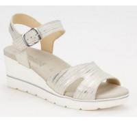 Mephisto Elisabeth leather sandals for women beige