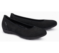 Mephisto Elsie Perf leather ballet pumps for women black