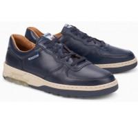 Mephisto Marek leather sneakers for men blue