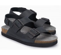 Mephisto Nardo leather sandals for men black