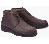 Mephisto EMANUEL leather ankle boots dark brown