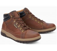 Mephisto Pitt Grizzly leather boot men tobacco brown