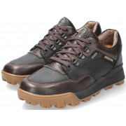 Mephisto WESLEY GT (GORE-TEX) men's lace shoe - dark brown leather