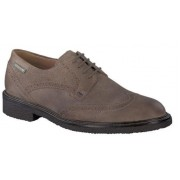 Mephisto Geffray dark grey leather lace-up shoe for men