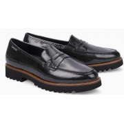 Mephisto Sidney leather graphite slip-on shoes women