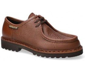 Mephisto PEPPO men's lace-up shoe - desert brown leather  GOODYEAR WELT
