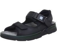 Mephisto ATLAS FIT mens sandal - black leather
