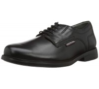 Mobils by Mephisto ABRIZO leather lace shoes for men black     WIDE FIT
