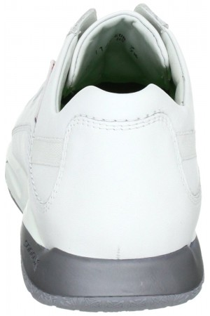 Sano by Mephisto ACTOR white leather rolling walking shoes for men
