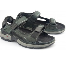 Allrounder by Mephisto ADIAGO black nubuck sandal for men