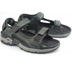 Allrounder by Mephisto ADIAGO black nubuck sandals        FREE SHIPPING to all countries