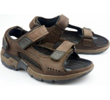 Allrounder by Mephisto ADIAGO brown nubuck sandal for men