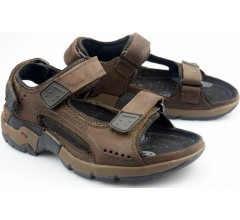 Allrounder by Mephisto ADIAGO espresso brown nubuck sandals              FREE SHIPPING