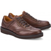 Mephisto ADRIANO chestnut brown randy leather handmade mens shoes