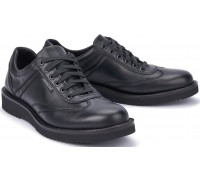 Mephisto ADRIANO black leather handmade laceshoes for men