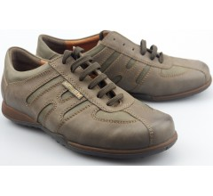 Mephisto AGATINO dark taupe grey leather