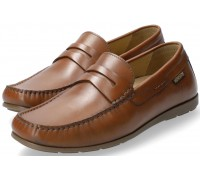 Mephisto ALYON Men's Mocassin - Brandy Brown