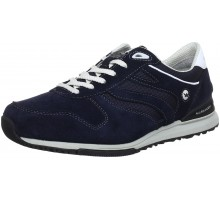 Allrounder by Mephisto ATLANTA dark blue leather suede sneaker for men