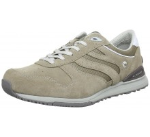 Allrounder by Mephisto ATLANTA taupe leather suede sneaker for men