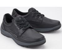 Mephisto BELION -  leather lace-up shoe for men - black
