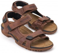 Mephisto BRICE Mens Sandal - Chestnut Brown