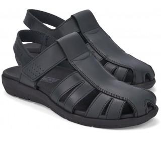 Mephisto CESAR leather sandals for men black