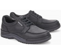 Mephisto CHARLES black leather casual laceshoe for men