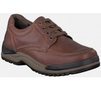 Mephisto CHARLES chestnut brown leather lace-up shoe for men