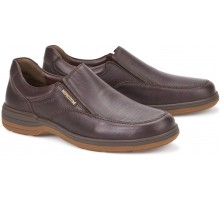 Mephisto DAVY dark brown leather moccasin for men