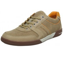 Allrounder by Mephisto DOMINO sand beige leather suede sneaker for men
