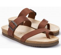 Mobils by Mephisto DOUGLAS Men's Sandal - Wide Fit - Chestnut