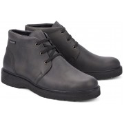 Mephisto EMANUEL leather ankle boots dark grey