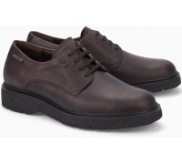 Mephisto EMERIK dark brown shoes for men